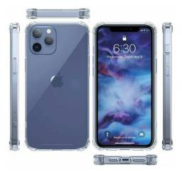 Capinha , case transparente iphone 12 mini , 12 pro e pro max