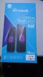 Pelicula Vidro Temperado Iphone 6 e 6 plus Escudo Blindado