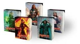 Combo 5 Decks Iniciante Magic The Gathering + Brindes
