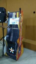 Máquina de karaokê jukebox