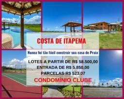 Costa de Itapema, Lotes em Condomínio Fechado com Praia Privativa,