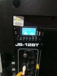 Caixa amplificada jbl 12 bt : valor 790 reais