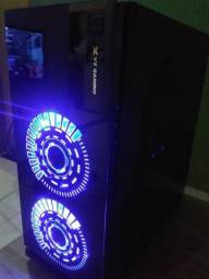 "Computador Gamer Completo 22"" LED HyperX 8Gb Vga 2GB 128 Bits"