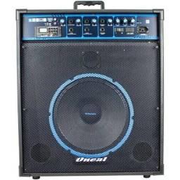 Caixa Acústica Ativa Ocm-490bt 80wrms Bluetooth - Oneal