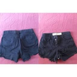Vendo shorts jeans preto