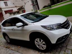 Honda CRV Elx 4x4 13/13 40Mil KM+Novo RJ+TOP+Teto+Couro+Revisão +Senhor Garagem+AC.Trocas - 2013
