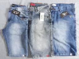 Atacado bermuda jeans sarja