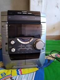 Mini System Sony DX5 sem caixas com controle conservado