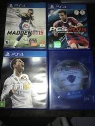 Fifa 18-Madden 15-PES2015-PES2019