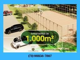 Lotes , Cachoeira de Sauípe , Área 1000 m² , R$ 48. 500, 00 / 1 B/