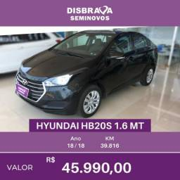 Hyundai HB20S Confort Plus - 2018