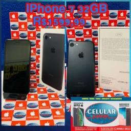 Iphone 7 32GB Preto Usado Com Garantia De Loja
