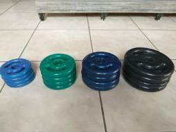 Equipamentos de academia - musculação