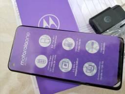Moto One Action 128Gb novo com nota fiscal e garantia, LEIA