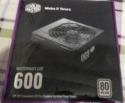 Fonte Cooler Master 600w