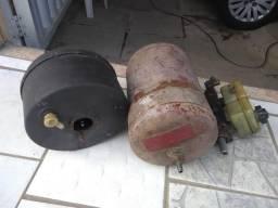 Hidro vácuo, bomba de freio e balão de ar