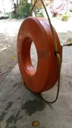 Boia e garfo marítima