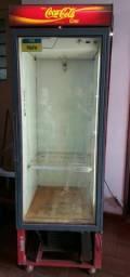 Freezer Coca-Cola antigo