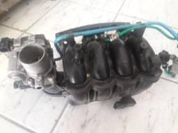 Corpo de borboleta Grand Siena e coletor admissao 1.4 motor evo