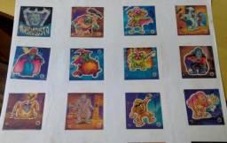 Lote Figurinhas Coleção Elma Chips Chipsustos Mansão Susto