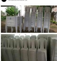 Alugo mesas e cadeiras