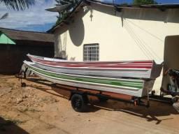 Canoas de alumínio nova 6 mts, soldadas - 2019