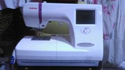 Máquina de bordado janome Mc350e por 2.000