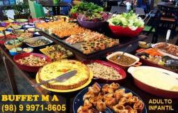 M&A buffet e recepções
