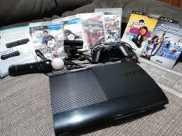 PS3 Console & Kit Move & Jogos