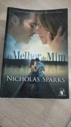 """Livro """"O Melhor de Mim"""" de Nicholas Sparks"""