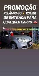 Compra GARANTIDA!.R$1MIL DE ENTRADA(SANDERO 1.6 2013) - 2013