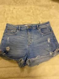 Shorts e saias em ótimo estado