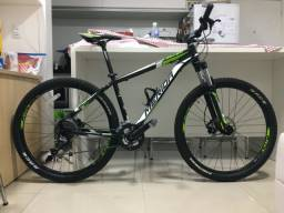 Bike com Kit Shimano SLX+Alívio+Acera - Tam. 17 - Merida Big Seven 300