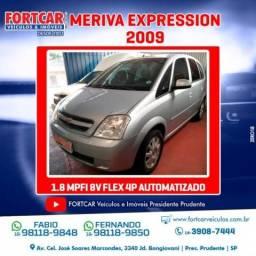 Chevrolet meriva 2009 1.8 mpfi expression 8v flex 4p automatizado