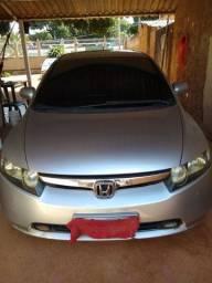 Honda Civic 2007 com os vidros Blindados filé top total segurança
