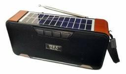 Caixa De Som Bluetooth Radio Fm Usb Cartão Mp3 Mex-02