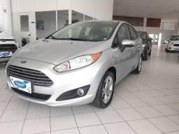 New Fiesta 1.6 Automático Prata 2014 - 2014