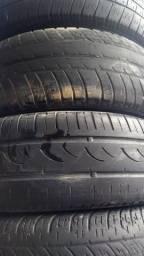 4 pneus meia vida (aceito cartão)