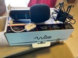 Vendo microfone condensador BM-800 com 2 meses de uso