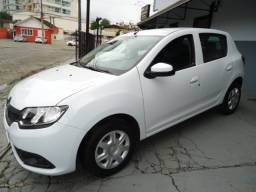 Renault sandero authentque 1.0 flex 82cv 4p ano 2020 branco
