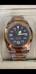 Relógio Rolex Air King automático a prova d'água Completo