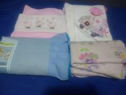 Cobertores e mantas para bebê