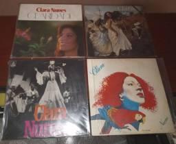 Lote 4 LP Vinil Clara Nunes