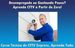 Título do anúncio: Aprenda CFTV do Zero! Curso Técnico de Cftv Express Completo Online