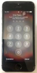 Título do anúncio: Celular Iphone  5s 16GB Preto