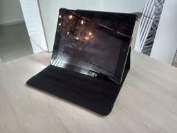 Apple Ipad 4º geração 128gb Cinza com Case em Couro, Usado.