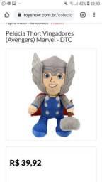Pelúcia Thor original da Marvel nova