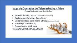 Título do anúncio: Operador de Telemarketing Ativo