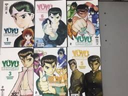 Título do anúncio: Coleção Yu Yu Hakusho
