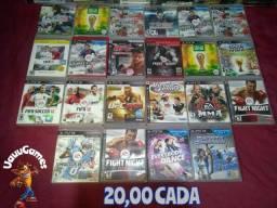 Jogos originais de Playstation 3 semi novos e com garantia